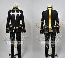 Новое поступление убить ла убить Houka Inumuta равномерное черный экипировка косплей костюм окончательный вариант