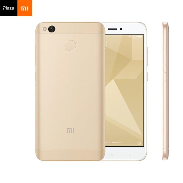 Global version Xiaomi Redmi 4X  smartphone 3GB RAM 32GB ROM Snapdragon 435 Octa Core 13.0MP Camera 4100mAh 5''HD Fingerprint