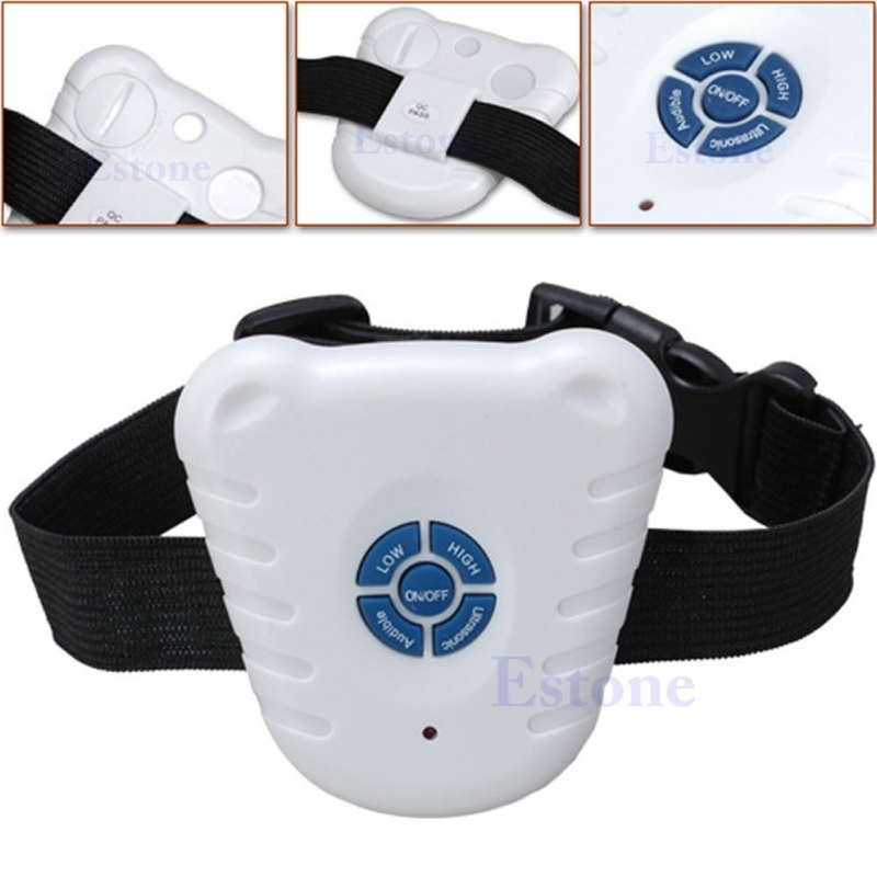 Ultrasonic Dog Pet Stop Barking Anti Bark Training Trainer Device Control Collar