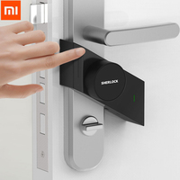 In Stock Xiaomi Sherlock Smart Lock M1 Mijia Smart Door Lock Keyless Fingerprint Password Work To