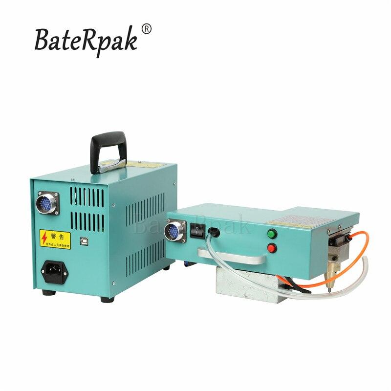 40x160 milímetros tipo de Computador Portátil pneumática máquina de marcação, BateRpak Portátil tag industrial máquina, máquina de gravura em metal