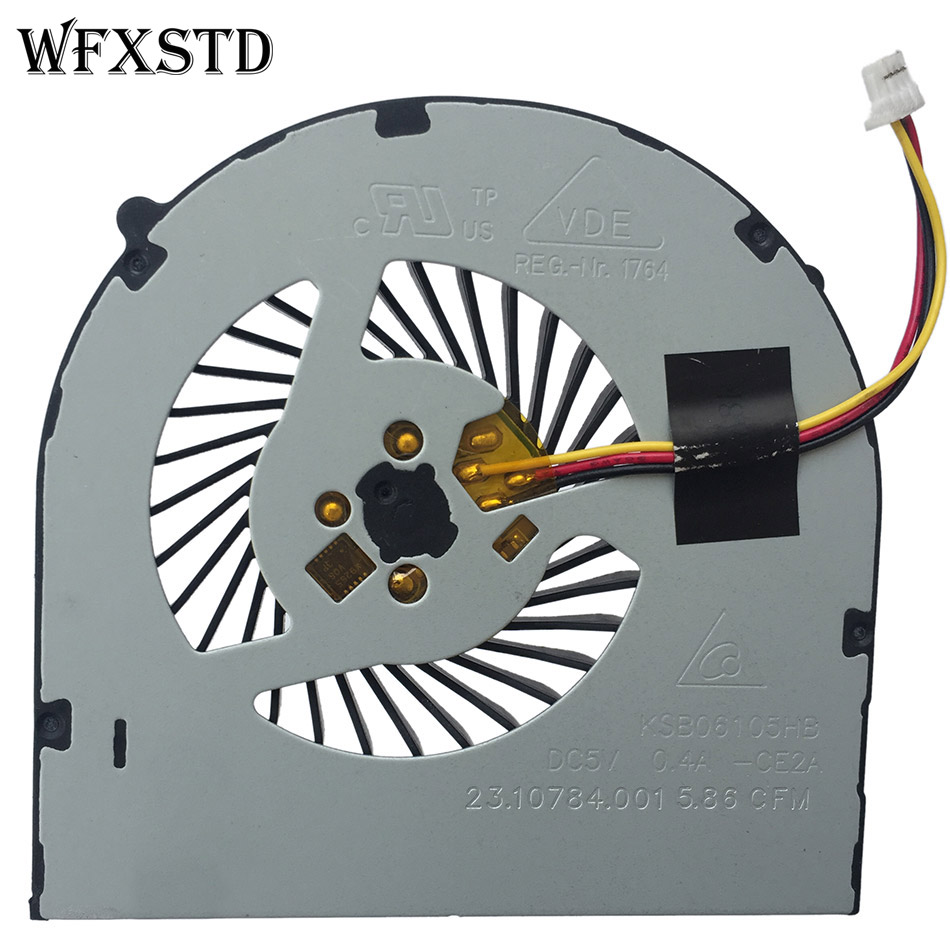 NEW CPU FAN FOR DELL 14R 3421 5421 2328 2528 2421 2518 3518 / DC 5V 0.5A  3pins P/N:39 23.10732.001 DFS481305MC0T