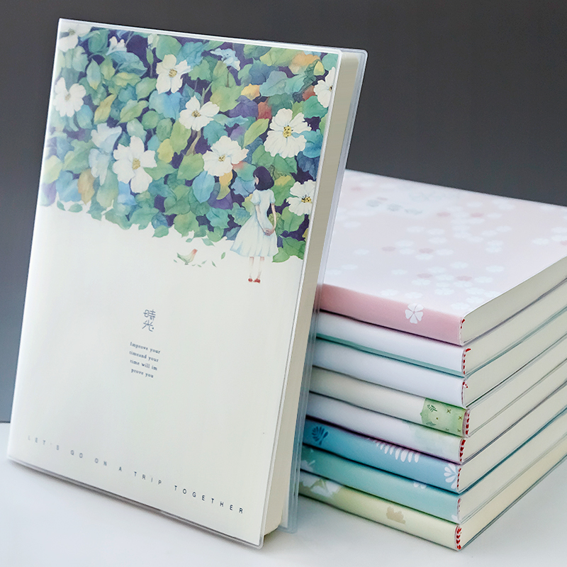 <font><b>Kawaii</b></font> Notebook Diary Schoool Notebook Creative Trends <font><b>Note</b></font> <font><b>Book</b></font> Korea Stationery Skechbook Drawing Office School Supplies Gift image