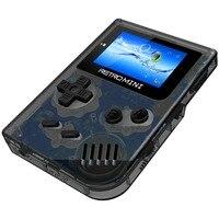 Aspecto clásico 32 bit tamaño compacto retro consola pequeña Reproductores de juegos portátiles incorporado 36 juegos apoyo TF tarjeta