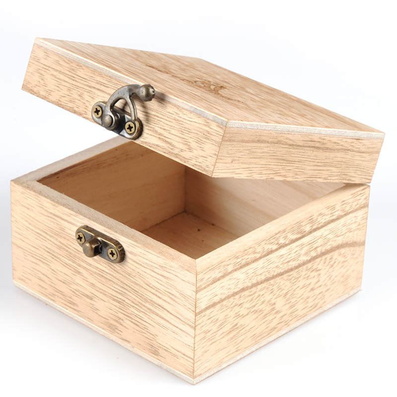 Large New Wooden Storage Box Diy Crates Toy Boxes Set: BOBO BIRD Bamboo Wooden Box For Watch Jewellery BoxesTop