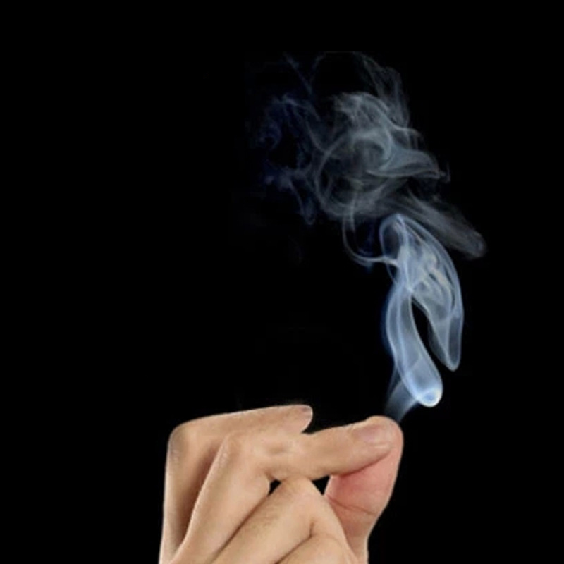 10 шт. Волшебные трюки курит сюрприз Шутки Шутка мистический весело Магия дыма от кончиками пальцев Классические игрушки
