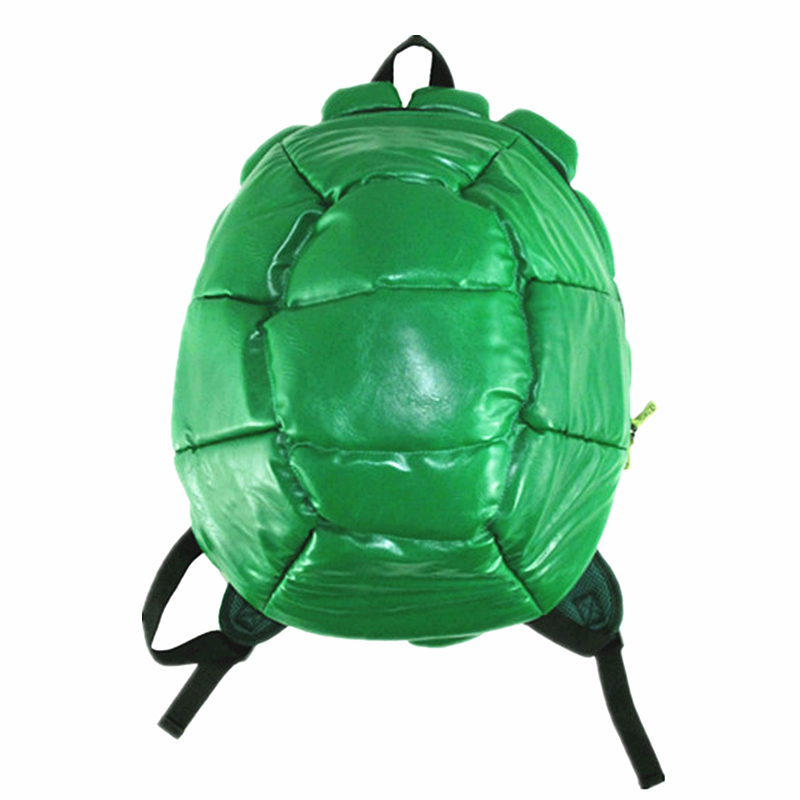 High Quality Teenage Mutant Ninja Turtles Cosplay Backpacks Bag Ninja Turtles Backpack Bags Including 4 Masks With Tag 16 inch anime teenage mutant ninja turtles nylon backpack cartoon school bag student bags double shoulder boy girls schoolbag page 5