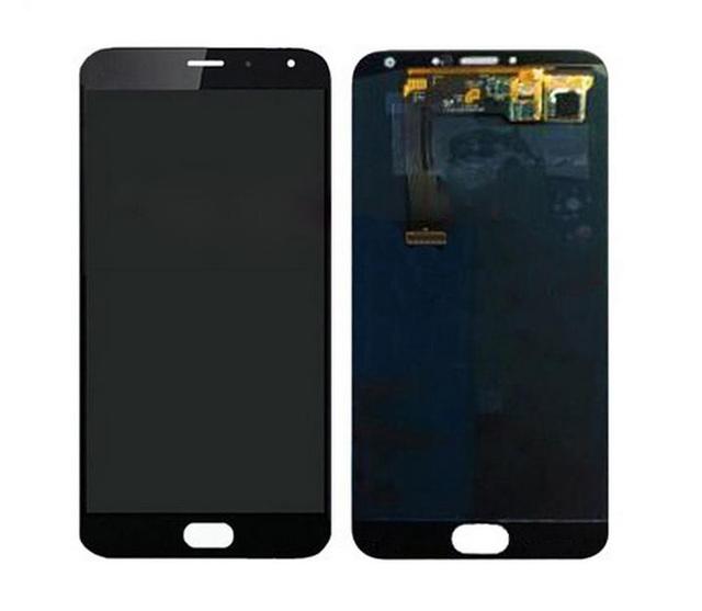 100% testado para meizu mx5 digitador assembléia painel de vidro de substituição original display lcd + touch screen