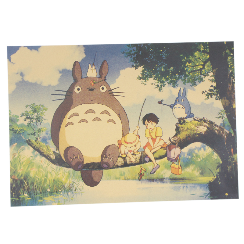 Famous Totoro Wall Decor Elaboration - Wall Art Design ...