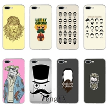 Geek Bearded Artist poster Slim silicone TPU Soft phone case For Huawei Mate 7 8 9 10 lite Pro Y3 Y5 Y6 II Pro Y7 GR5 2017