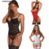 Сексуальное женское нижнее белье размера плюс, эротический сексуальный костюм, женское сексуальное нижнее белье, женские кружевные трусы