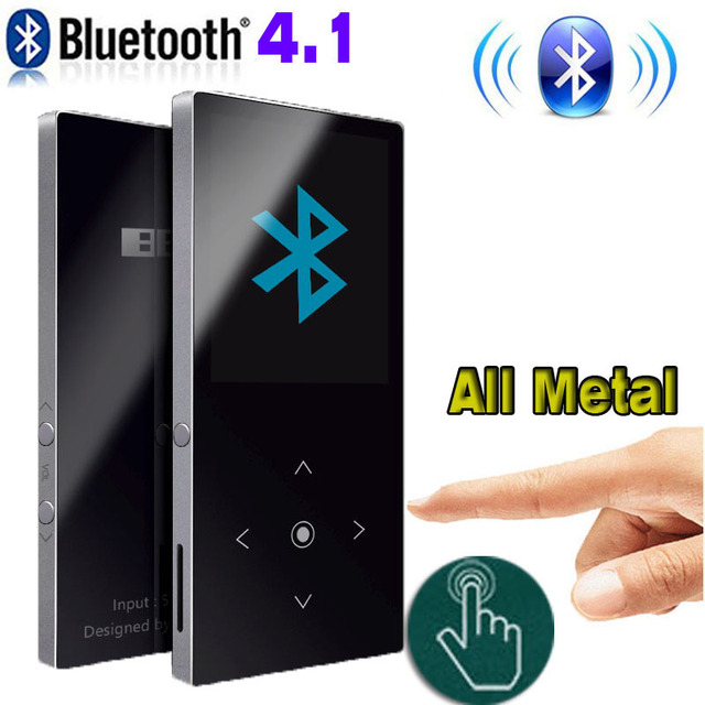 Bluetooth mp3 player Touch Screen BENJIE K8 Ultra thin 8GB/16GB Music Player 1.8 Inch Color Screen Lossless HiFi Sound with FM