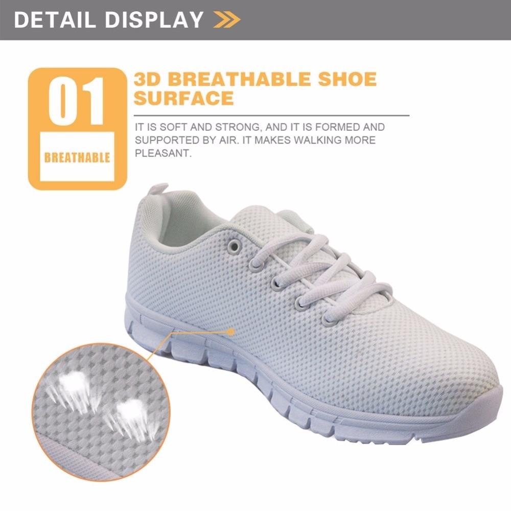 FORUDESIGNS 2018 primavera enfermera impresa zapatos planos mujeres - Zapatos de mujer - foto 2