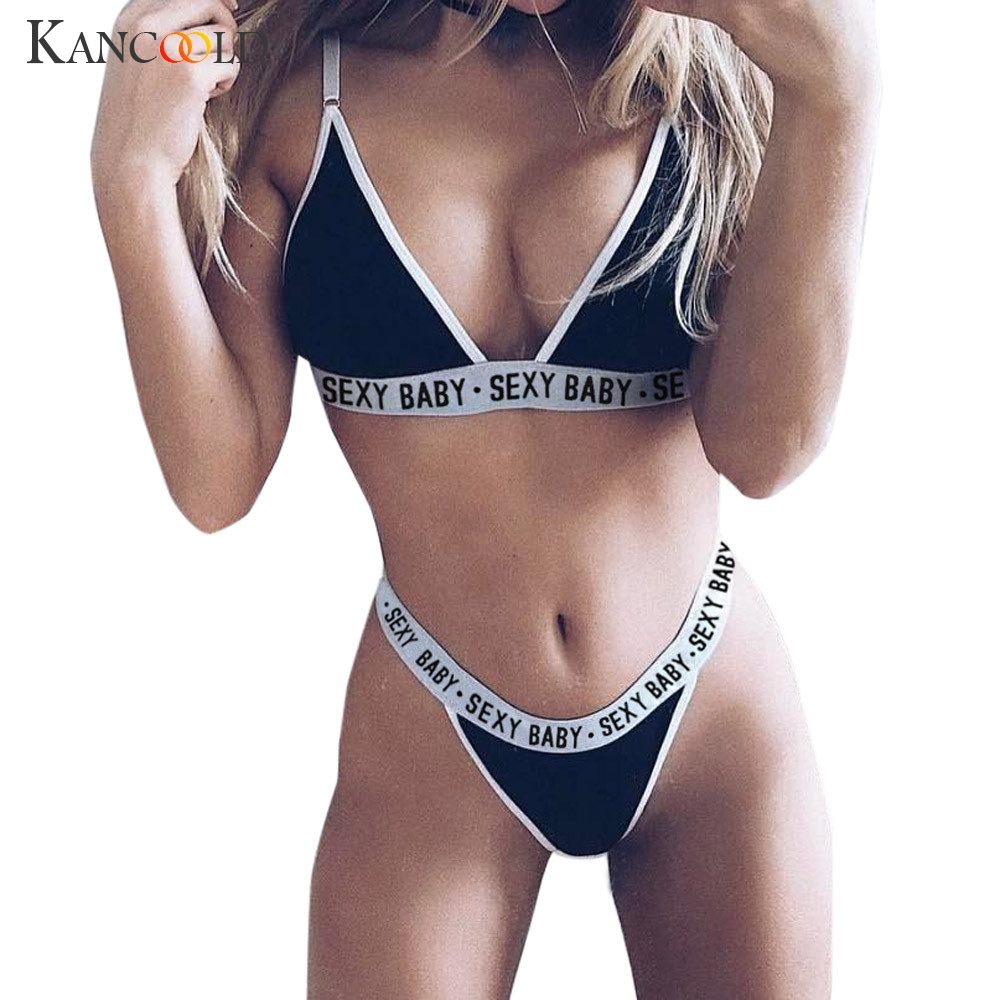 2017 Women Girls Beach Suit Sexy Push Up Lingerie Corset -6717