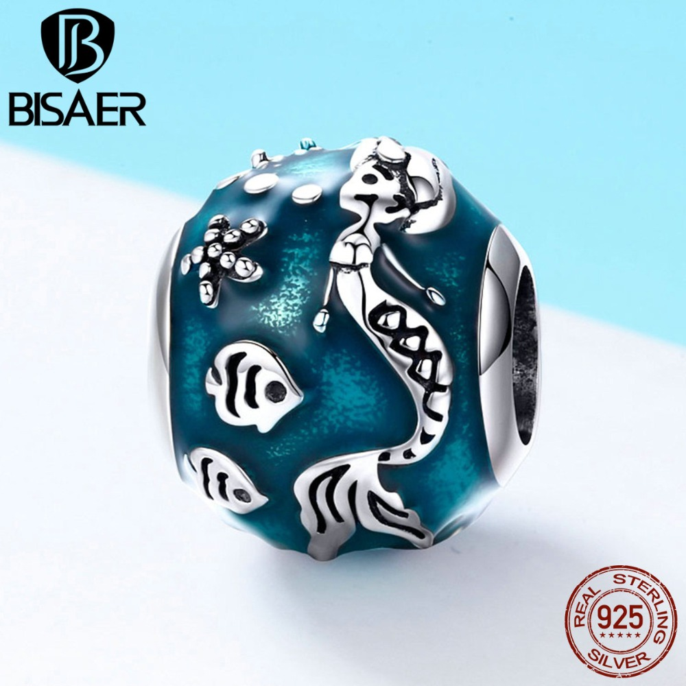 Dedicated 2019 New Summer Silver Charms Charming Mermaid & Fishes In The Ocean Women Beads Fit Original Bracelets & Bangle Jewelry Hsc819 Beads & Jewelry Making Jewelry & Accessories
