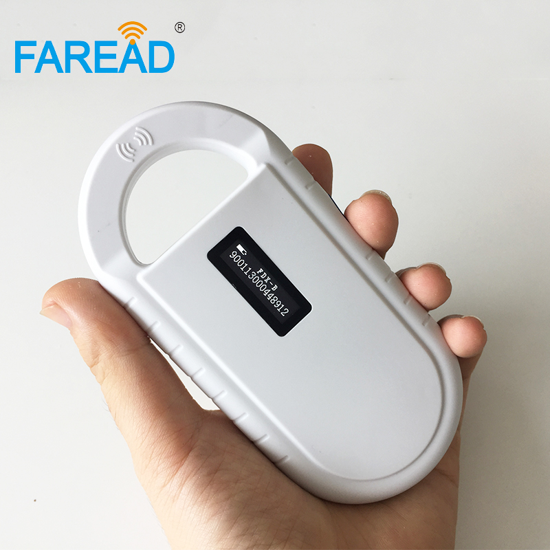 Free Shipping RFID FDX-B Animal Microchip Scanner Reader Manufacturer