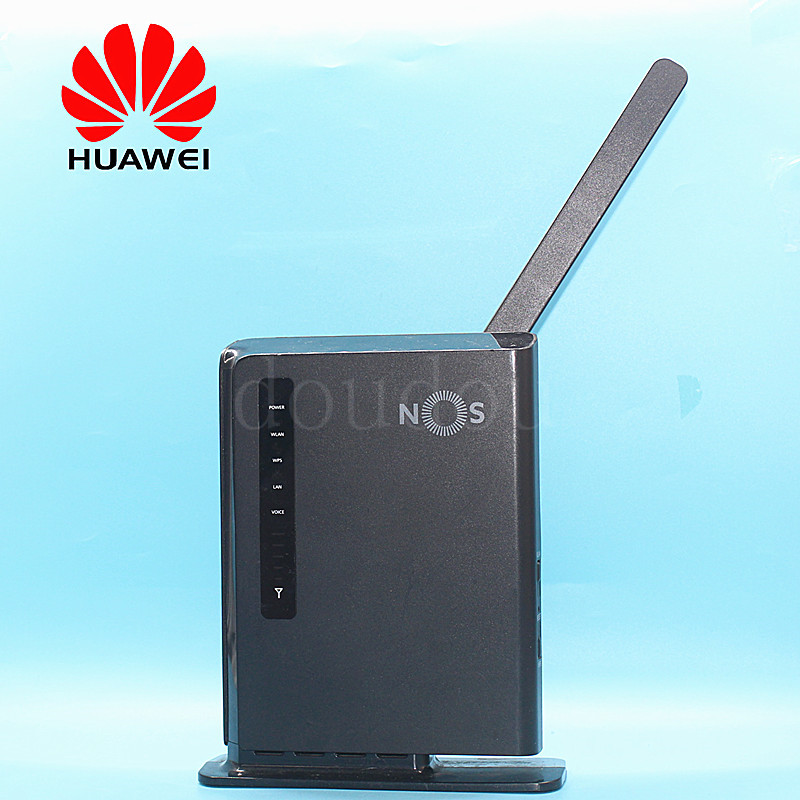 Unlocked Used Huawei E5172 E5172As-22 With 4G Antenna 4G 150Mbps LTE WiFi Router Dongle 4G CPE Wireless Router