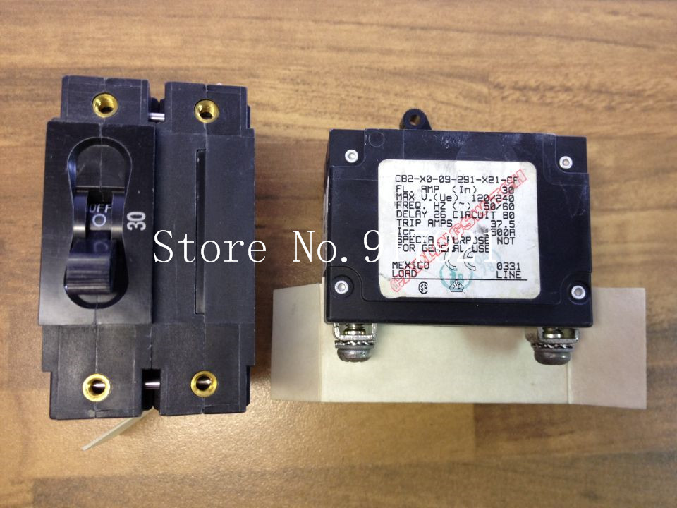 [ZOB] The United States Carling Jia Ling CB2-X0-09-291-21-CF breaker 2P30A 240V --5pcs/lot