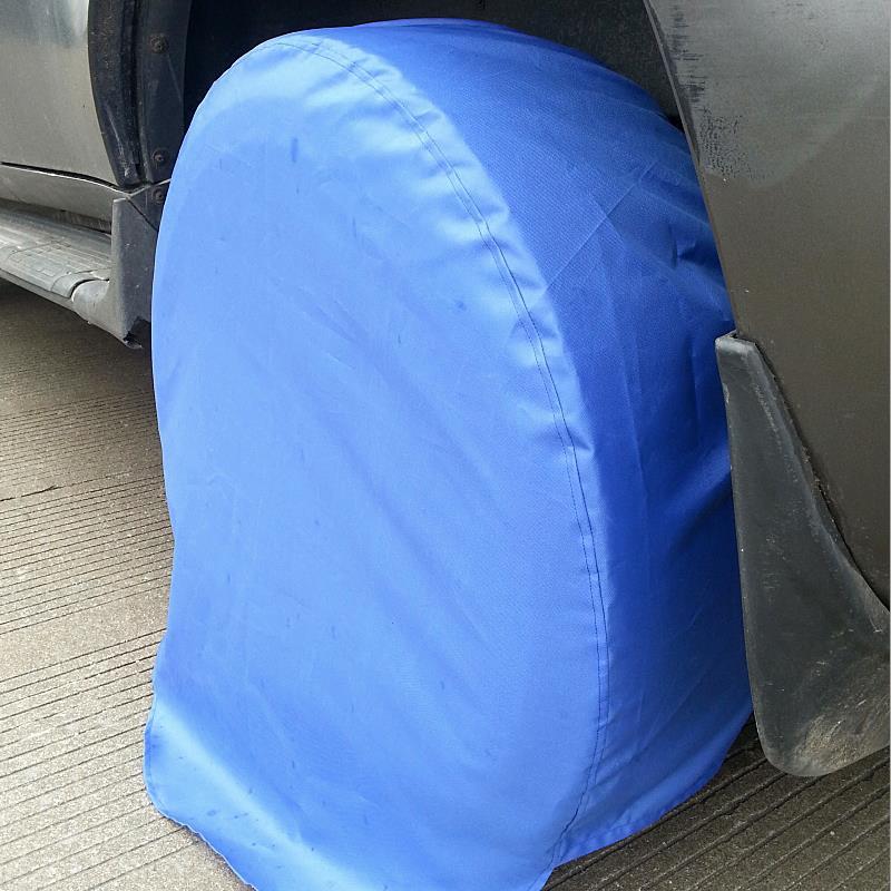 CHIZIYO Car Spare Tyre Cover Garage Tire Case Oxford Cloth ...