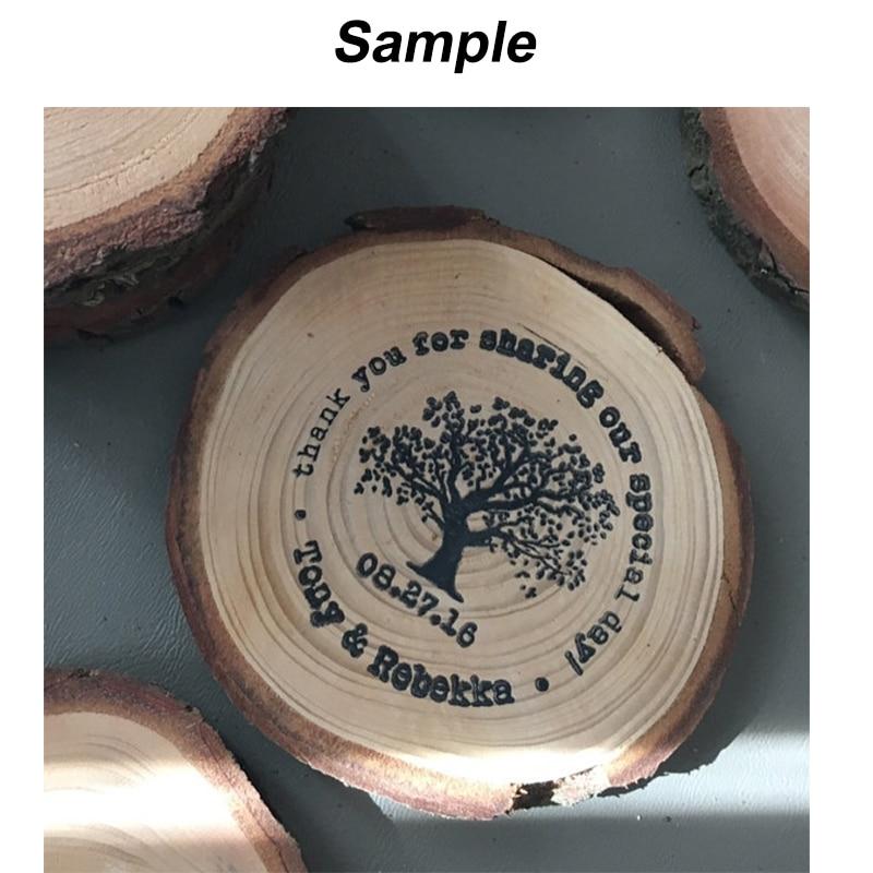 free shipping tree address custom stamp wedding return address stamp 2 u0026quot x2 u0026quot  custom self inking