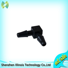 H30 Dia 4 UV Ink Two-way Tube Fitting