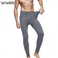 2018 winter Men #8217 s warm underwear cotton leggings Tight Men Long Johns Plus Size Warm Underwear Man thermal underwear for men cheap Eyck Yuan SXDZ BNK13 M L XL XXL XXXL Boys Mens Male Autumn And Winter