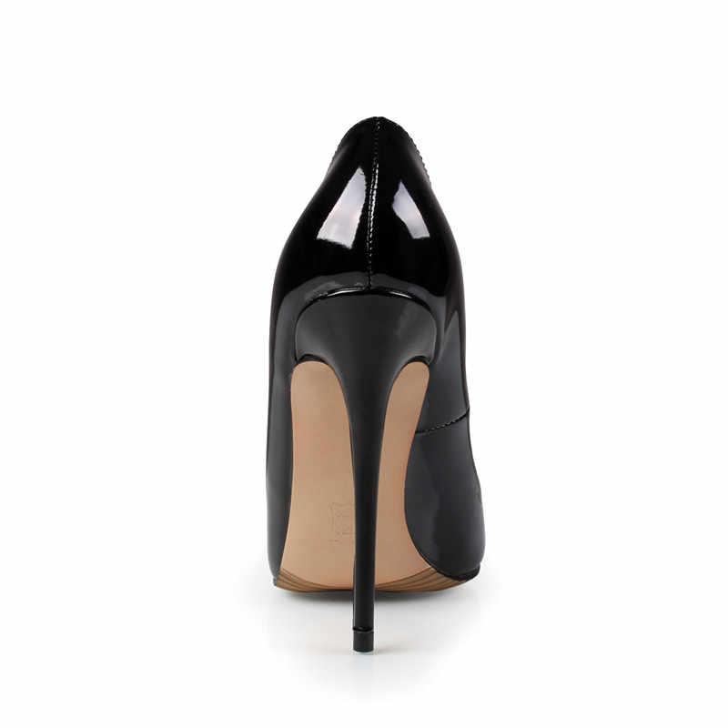 de7f09fe2 ... Брендовые туфли на высоком каблуке 12 см, женские туфли-лодочки на  высоком каблуке, ...