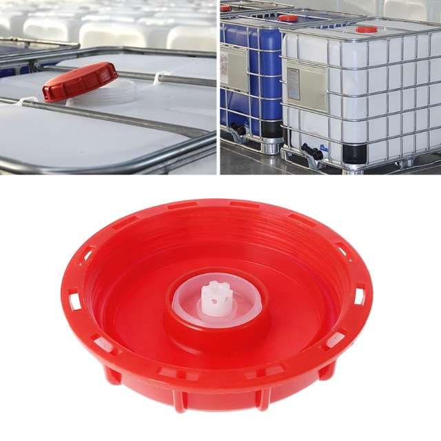 US $6 18 14% OFF|2019 New 275 330 Gallon IBC Tote Tank Cover Lid Cap 163mm  Breath Cover Lid-in Tank Covers from Automobiles & Motorcycles on