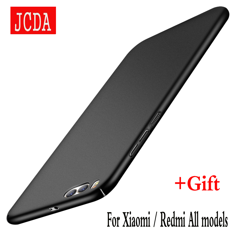 JCDA Brand For Xiaomi mi 6 4 5 5s plus 4c 5c note 2 Redmi 3 3S 4 pro prime 4X 4A note 2 3 4 4X Mobile phone case cover PC Back