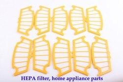 (ل a320 ، a325 ، a330 ، A335 ، A336 ، A337 ، a338) الروبوت فراغ نظافة hepa مرشح ، 10 قطعة/الحزمة ، تنظيف أداة استبدال أجزاء