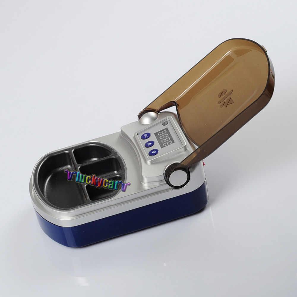 4 Четыре слота стоматологический цифровой восковой нагреватель погружающийся блок лаборатория восковой горшок блок стоматолога оральный стоматологическое лабораторное оборудование