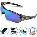 Moda óculos Polarizados Esportes Óculos De Sol para Mulheres Dos Homens Escalada Correndo Condução Pesca Golfe Eyewear Frame PC Óculos 5 Lens UV400