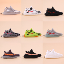 Keychain Mini Silicone SPLY-350 V2 Shoe Key Chain Woman Men Kids Gift Key Ring Basketball Sneaker Porte Clef