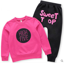 2016 Spring and Autumn girls baby boys sweater children sweater children's sports and leisure