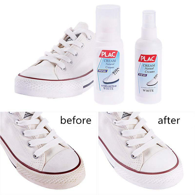 100ml Magic Refreshed White Shoes Cleaner Cleaning Tool For casual Shoes  Kit Professional Shoe Clean Polish Decontamination 3bc5b664c