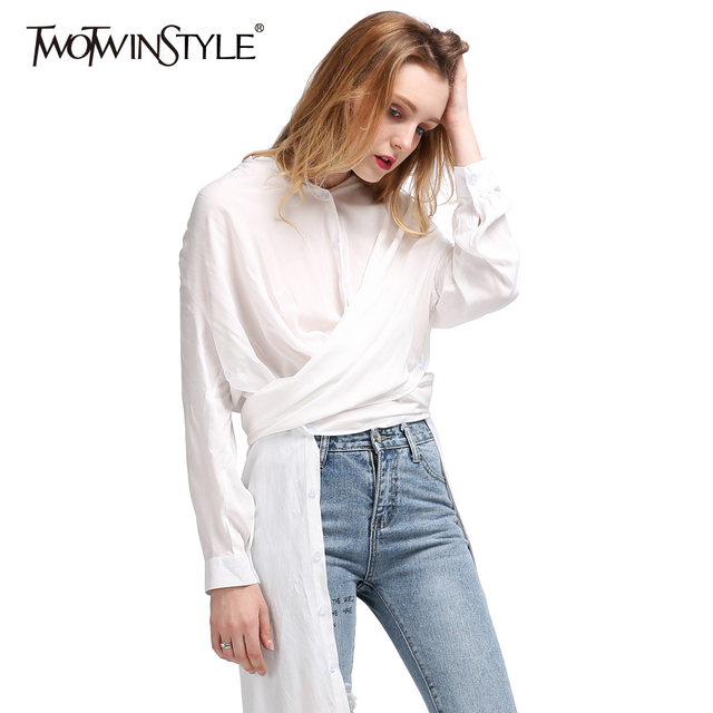 Midi Blouse White
