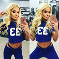 Hot saleWomen Sport Tracksuits  Women Top + Pants Running Gym Training Fitness workout with high quality