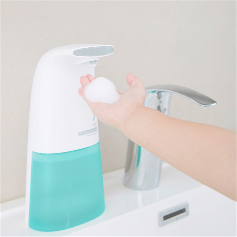 250ml Auto Foaming Soap Dispenser Hand Washer Automatic Touch-Less Portable Soap Dispensers for Kitchen Bathroom New Cheap gojo tfx antibacterial foaming hand soap 2 refills goj 5362 02