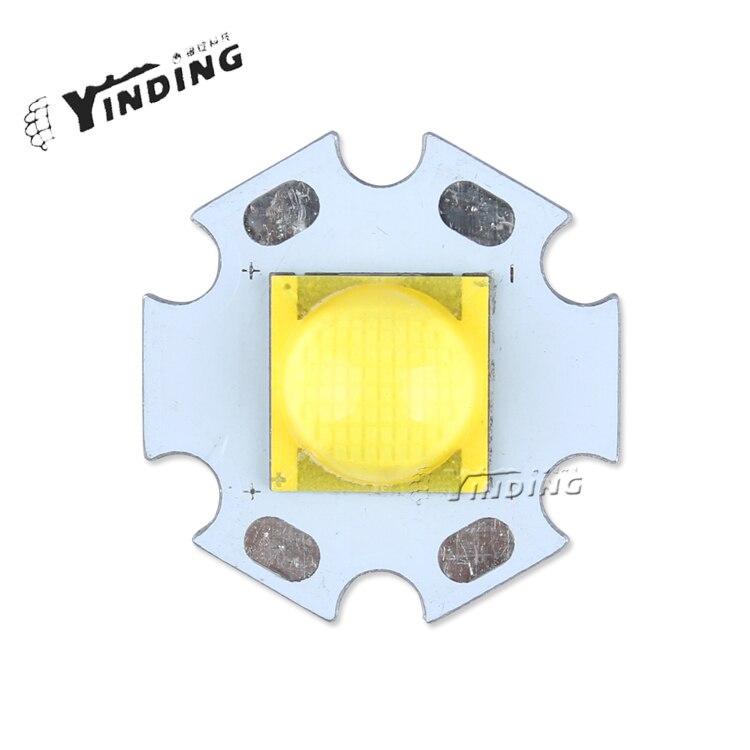 1pcs CREE MTG2 12v 6500k 3000k 25W High Power LED Emitter Blub Lamp Light LED Chip with 20MM PCB Heatsink