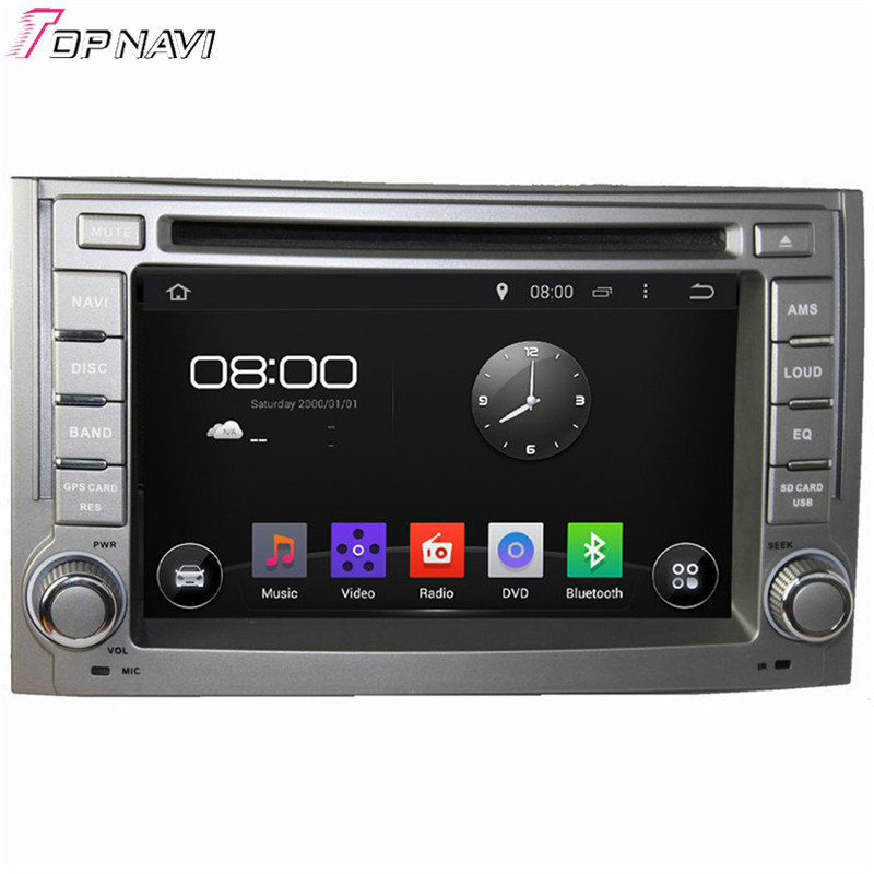 Quad Core Android 4.4.4 Car Dvd Player For H1 2011-2012 With 16GB Flash Mirror Link GPS Free Map Bluetooth