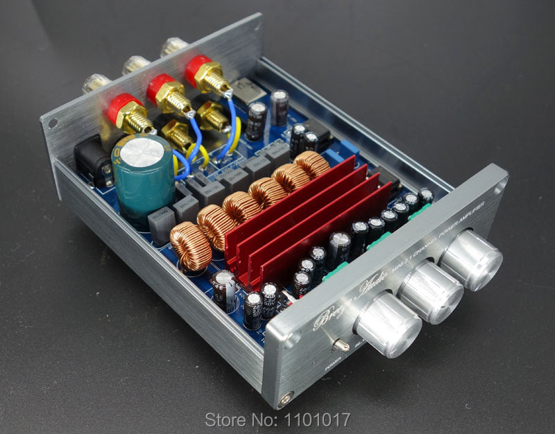 цена Weiliang Breeze Audio DP1 2.1 TPA3116D2 amplifier HIFI EXQUIS desktop