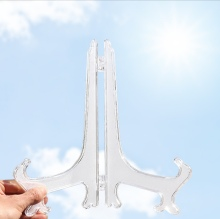 2 PC Plastic tray rack crafts placed pieces of support transparent wholesale