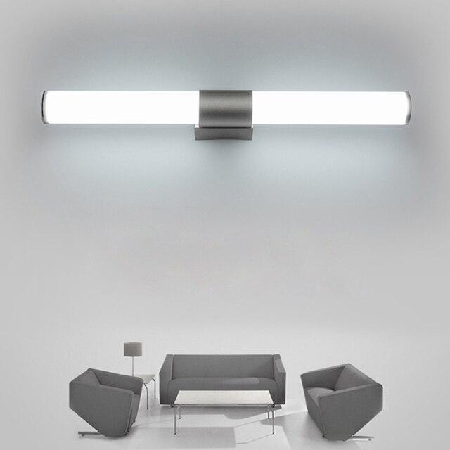 Wand Lampen Badezimmer Led spiegel licht Wasserdicht 12 watt 16 22 AC85  265V FÜHRTE schlauch Moderne lampe beleuchtung