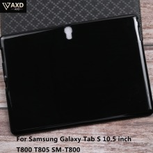 Silicon Soft TPU Back Smart Tablet Case For Samsung Galaxy Tab S 10.5 inch T800 T805 SM-T800 Protective Thin Cover Shookproof