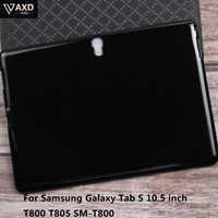 Souple en silicone TPU Dos Smart Tablette étui pour samsung Galaxy Tab S 10.5 pouces T800 T805 SM-T800 Protecteur Couverture Mince Shookproof