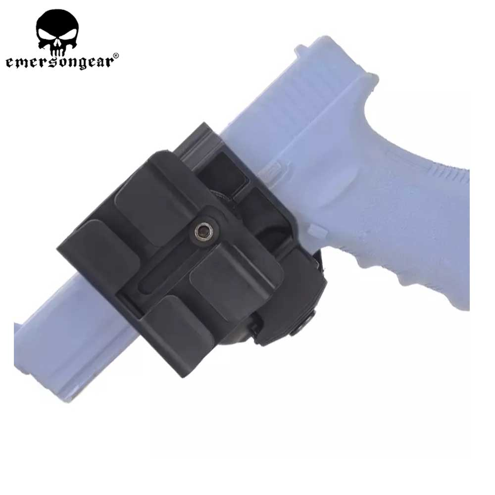 CP style pistol G17 holster GLOCK 19 23 Tactical Airsoft Paintball ar15 Accessories Hunting Shooting Roto Right-Handed Gun Clip