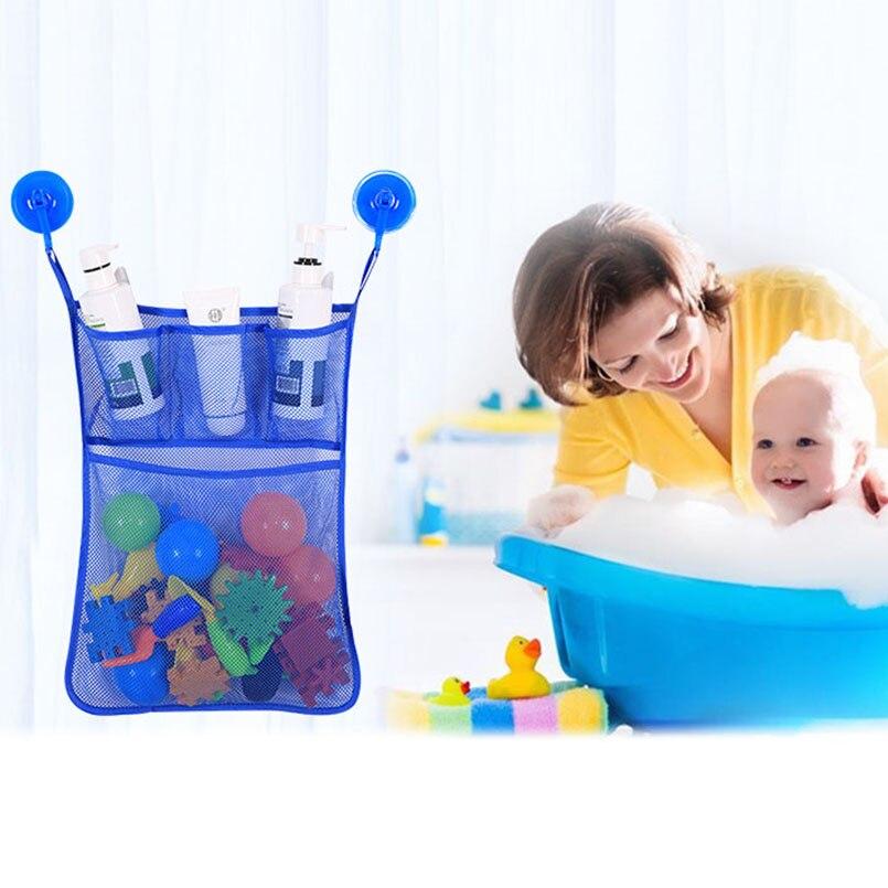 KIDS BABY BATH TOY TIDY STORAGE BAG ORGANIZER BATHROOM ORGANISER NET