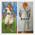Jogo Genji Traje Cosplay Halloween Outfit Uniforme Cachecol + T-shirt + Casaco + Calça + Cinto + Luvas + pulseira Feito Por Encomenda