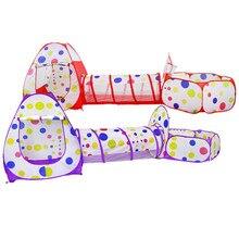 Tente jouet pour enfants, tente de jeu rampant, maison en tissu, jouet pour piscine, boule océanique, sport, amusant en plein air