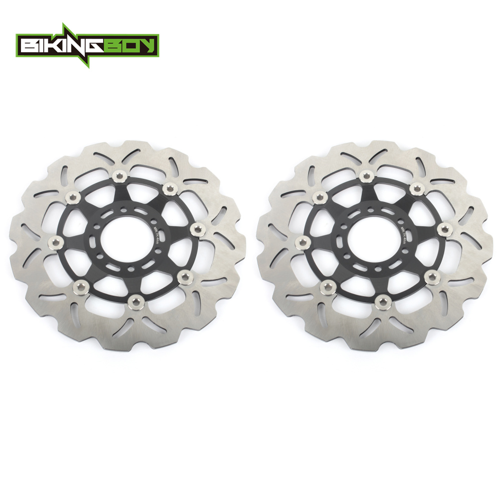 BIKINGBOY Front Brake Discs Rotors Disks for Yamaha R1-Z 250 1990-1996 TZR 250 RS 92 93 94 95 96 FZR 250 EXUP R RR Import FZR400